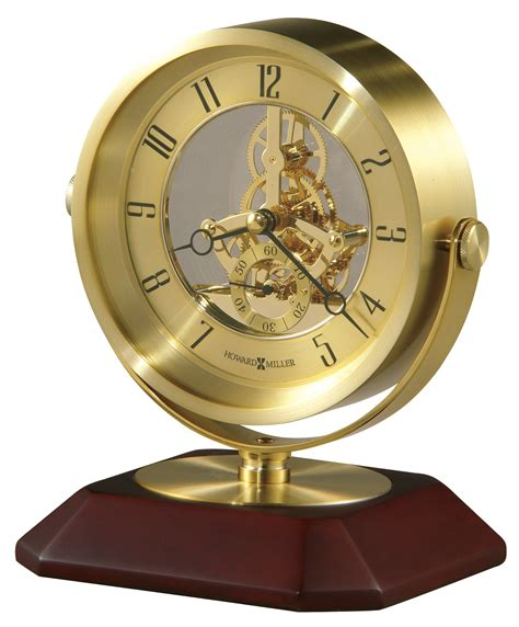 howard miller solomon desk clock 645674