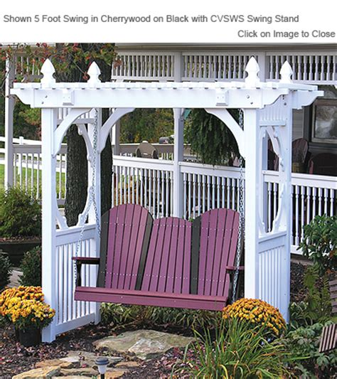 luxury porch swings outdoor poly furniture luxury poly aswng adirondack style