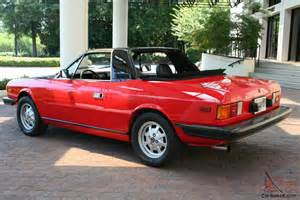 Lancia Beta Spider For Sale 1979 Lancia Beta Zagato Spider