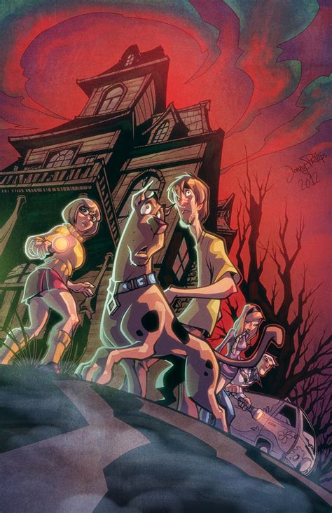 scooby doo painting scooby doo and the by ryanlord on deviantart