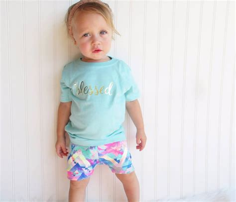 premium quality quot blessed quot toddler t shirt great for