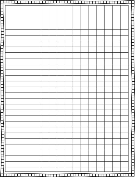 Printable Spreadsheet by Blank Spreadsheet To Print Spreadsheets