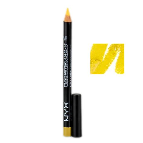 Nyx Slim Eye Pencil nyx slim eye pencil 924 yellow nyx slim eye pencil