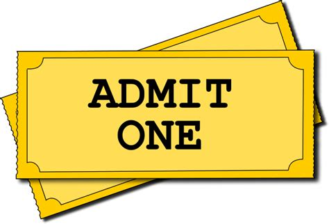 movie ticket template for word clipart best