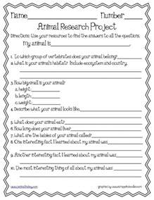 research project template animal research template science les animaux