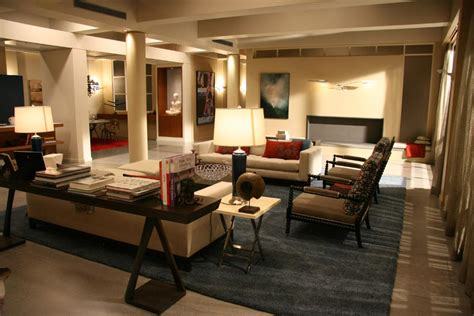 interiors for living room der woodsen residence living dining room gossip