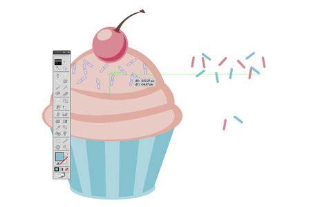 tutorial illustrator cupcake how to create a cupcake shop badge emblem style logo