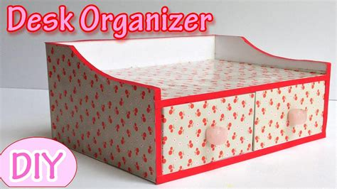 How To Make Desk Organizers by How To Make A Desk Organizer Diy Crafts