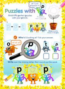 alphablocks activity sheets for toddlers learning amp play