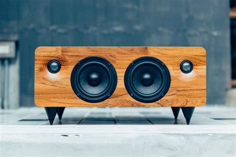 Handmade Audio - the min7 is a seriously powerful wireless speaker handmade