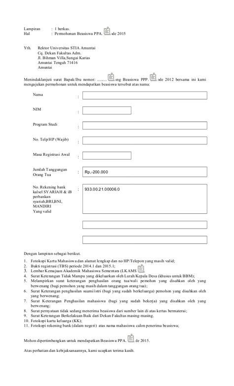 format surat pernyataan lpdp 2015 contoh surat pernyataan kelakuan baik permohonan beasiswa