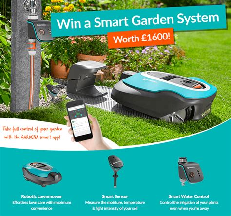 win a smart garden system worth 163 1600 competition closed