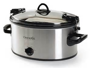 crock pot 6 quart manual cooker crock pot 6 qt manual cooker
