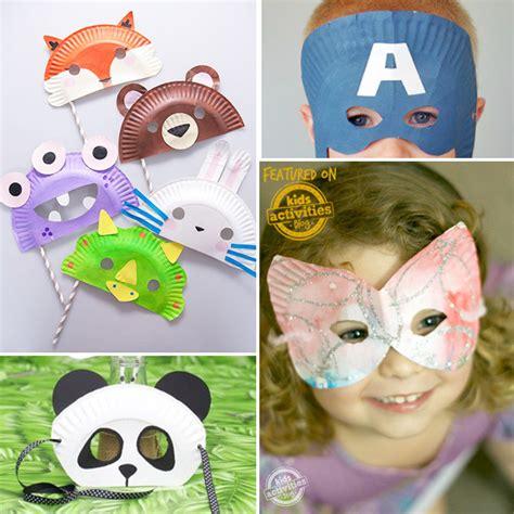 diy kids 30 diy mask ideas for