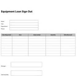 Tool Sign Out Sheet Template by Pdf Templates Construction Templates