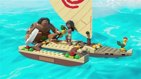 moana maui boat snack lego disney princess vaiana auf hoher see 41150 by d