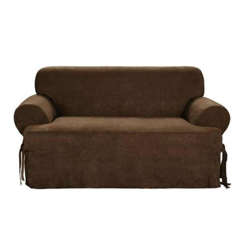 1 piece sofa slipcover this deals sure fit soft suede 1 piece t cushion sofa
