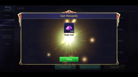 redeem  magic dust ml  kof popularity event mobile