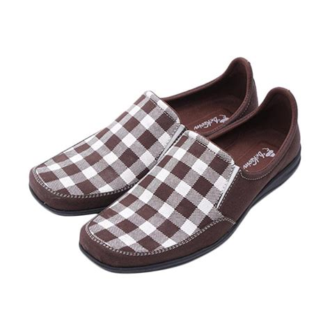 Boots Sepatu Pria Dr Kevin 1025 jual dr kevin canvas shoes 13210 sepatu pria brown