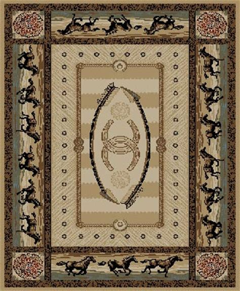 western themed rugs western rug shop everything log homes