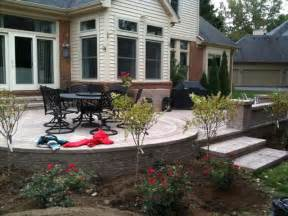 raised patios traditional patio detroit by apex