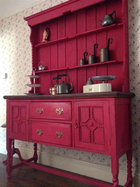 Kitchen Paint Ideas Unique Vintage Painted Welsh Dresser Annie Sloan Reduced