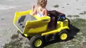 Custom Power Wheels Truck Modified Dump Truck Power Wheels Rubber Traction On Rear