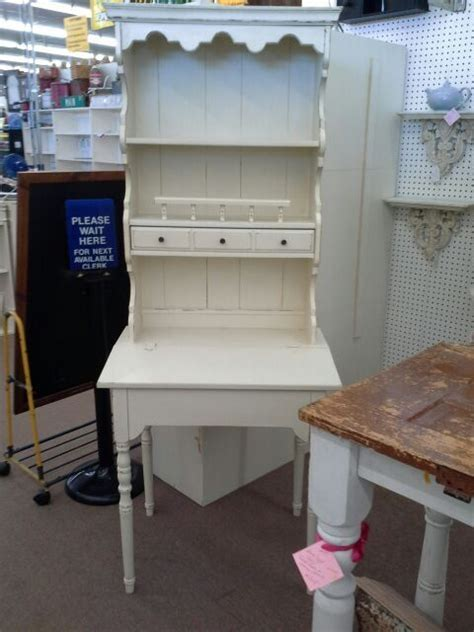 chalk paint mesa az sold desk with hutch top one drawer and lift