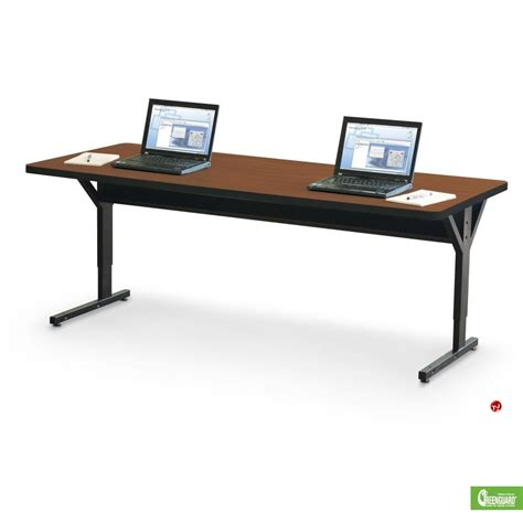 30 x 72 table the office leader 30 quot x 72 quot height adjustable table