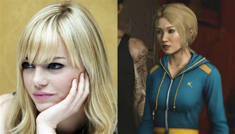 emma stone video game actrices famosas y sus participaciones en videojuegos