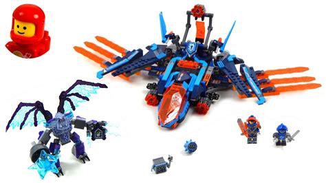 Lego Nexo Knights 70351 Clays Falcon Fighter Blaster lego nexo knights 70351 clay s falcon fighter blaster lego speed build
