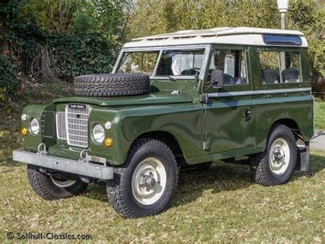 land rover 1940 land rover 88 series iii station wagon youtube