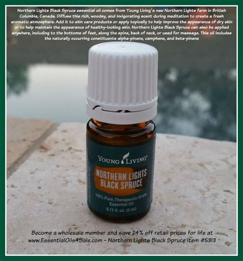Northern Light Black Spruce 5ml check out the many uses for northern lights black spruce