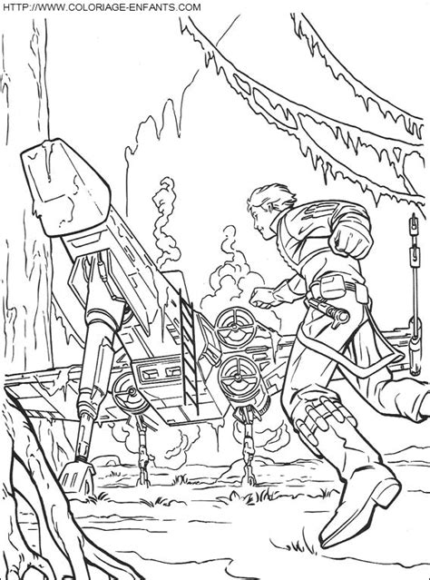 star wars snowspeeder coloring page free coloring pages of at st star wars