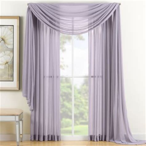 sheer lavender curtains buy curtain panels sheer from bed bath beyond