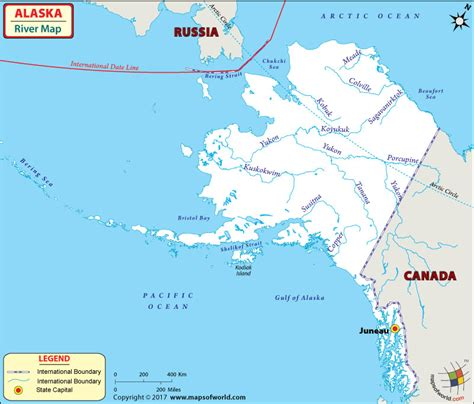 map with cities and rivers alaska map with cities and rivers photo in with alaska map