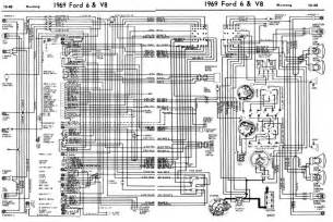 1969 mustang wiring diagram 1965 mustang color wiring diagram mifinder co