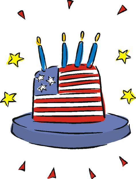 happy 4th of july birthday clip art u s a independence day free funny clip art page 1 of 4th