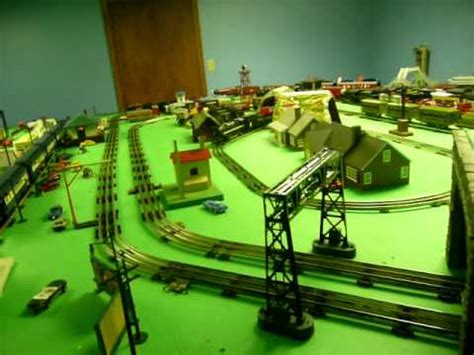 lionel layout youtube my lionel train layout youtube