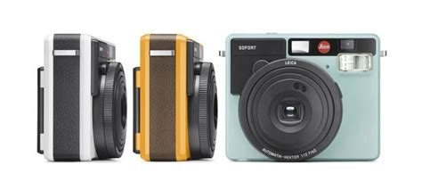 Kamera Leica Sofort leica sofort polaroid kamera was die sofortbildkamera