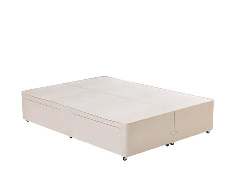 Inspire Q Beds Classic Divan Base Beige Dreams