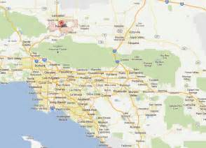 palmdale california map