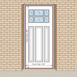 door size for residential homeswhat is the standard door average internal door width single door arch door