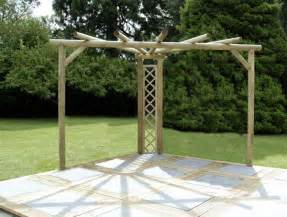 Rustic Pergola Kits by Wooden Pergola Kits