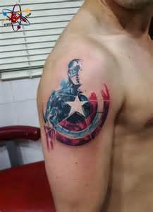 17 best ideas about captain america tattoo on pinterest