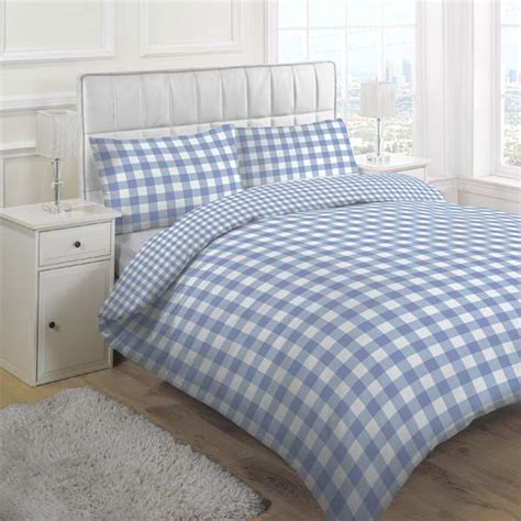gingham bedding linens limited large tonal gingham duvet cover set ebay