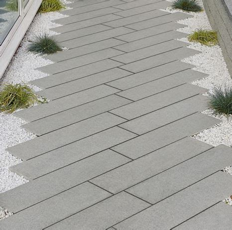 Granite Patio Pavers Grey Granite Plank Paving Excellent Incorporated Into A Modern Or Contemporary Garden Design
