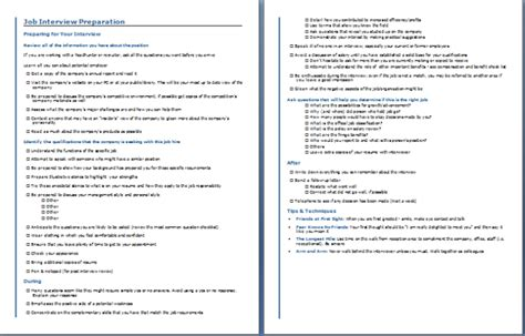 section 481 adjustment exle job interview preparation checklist free layout format