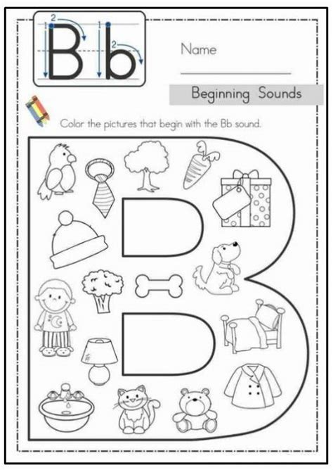 worksheets for preschool letter b free printable letter b worksheets for kindergarten