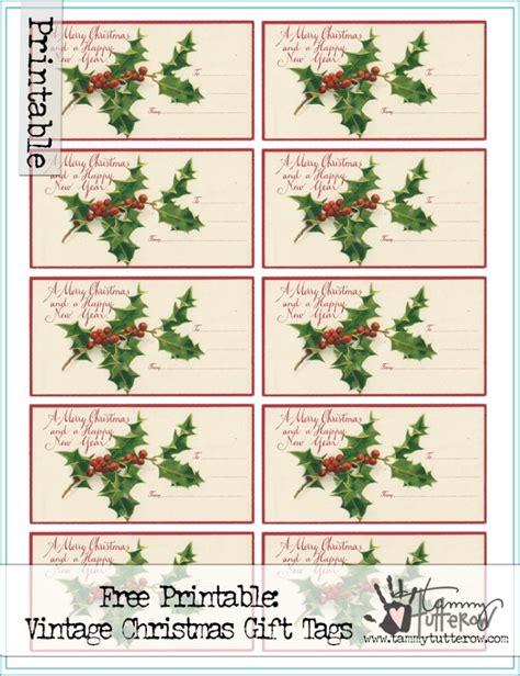 vintage christmas gift tags printable free free printable vintage christmas gift tags tammy